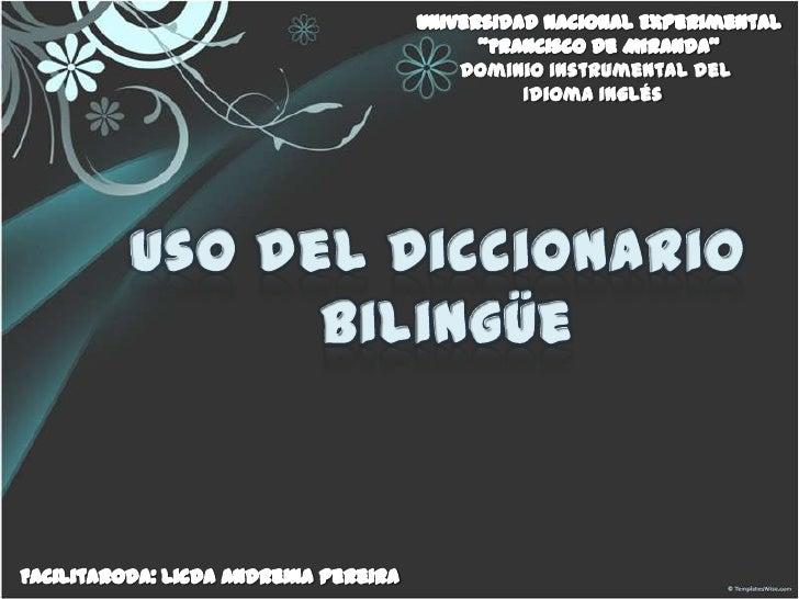 Dominio Instrumental del     Idioma Inglés