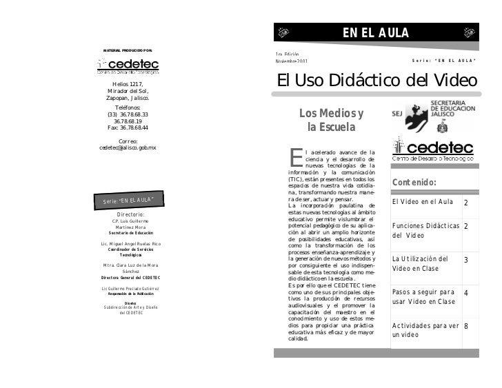 EN EL AULA MATERIAL PRODUCIDO POR:                                    1ra. Edición                                    Novi...