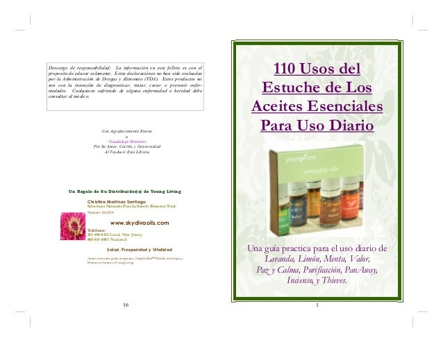 Usos de los aceites esenciales de young living en su kit for Aceites esenciales usos