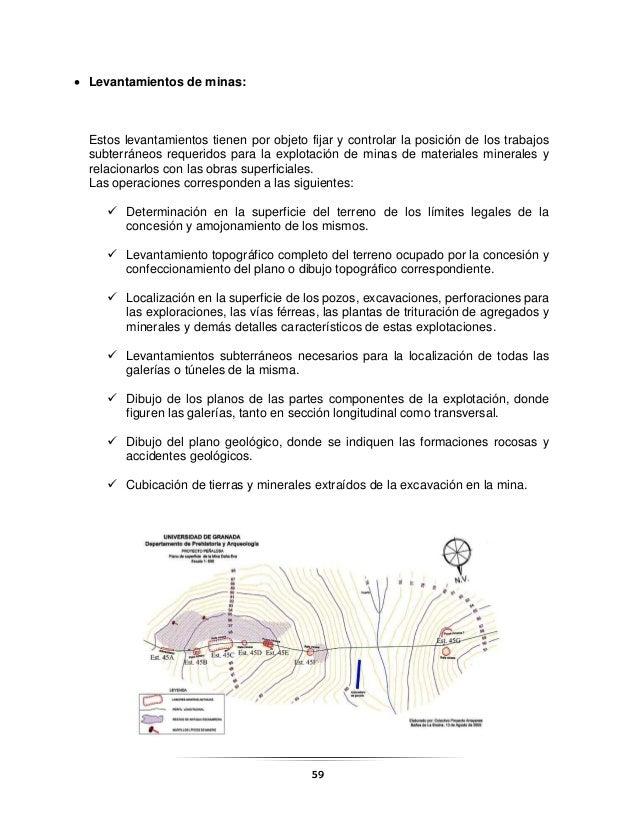 Usos de Instrumentos Topogrficos