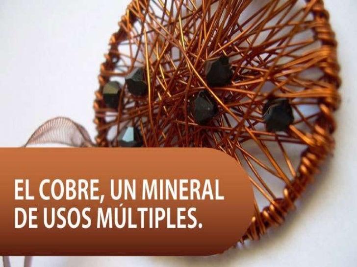 Usos del cobre