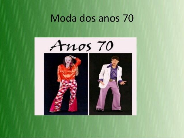 Moda dos anos 70