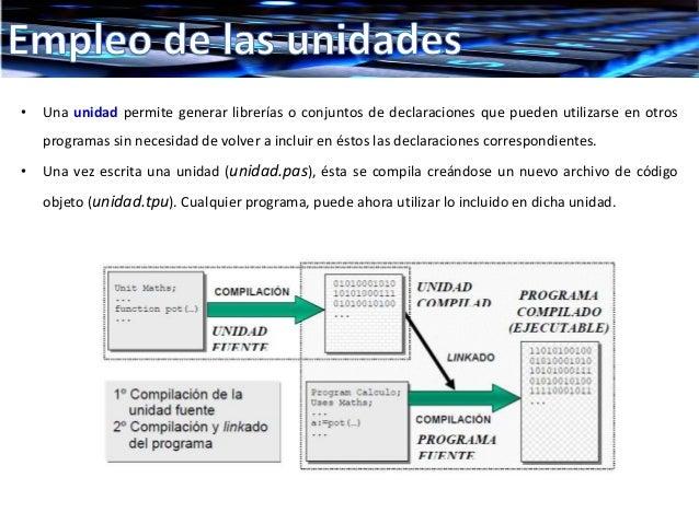 Uso y creacion de unidades Slide 3