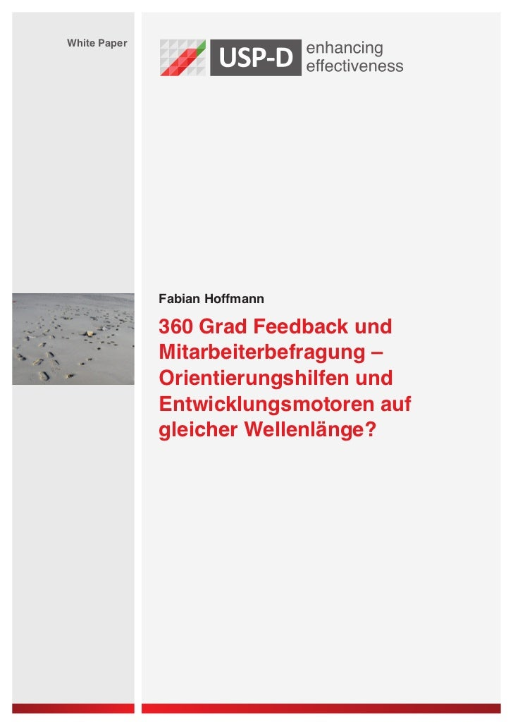 White Paper              Fabian Hoffmann              360 Grad Feedback und              Mitarbeiterbefragung –           ...