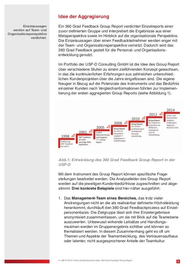 USP-D White Paper 360 Grad Feedback Group Report Slide 3