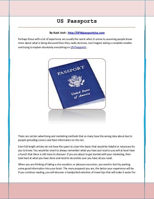 US Passports_____________________________________________________________________________________                         ...