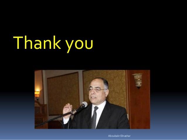 Thank you Aboubakr Elnashar
