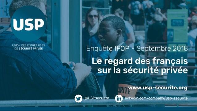 La notoriété du secteur de la sécurité privée connaît une hausse en 2018 Connaissez-vous ou avez-vous déjà entendu parler ...