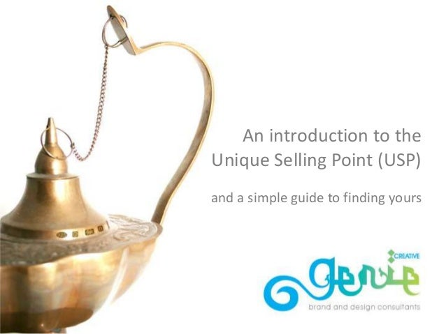 An introduction to the Unique Selling Point (USP) and a simple guide to finding yours