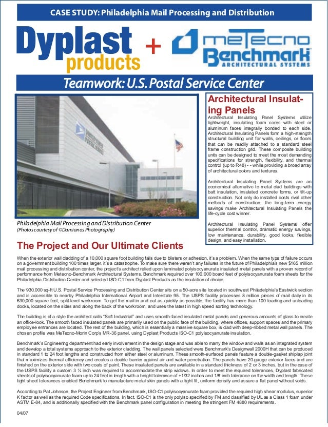 CASE STUDY: Philadelphia Mail Processing and Distribution                                                                 ...