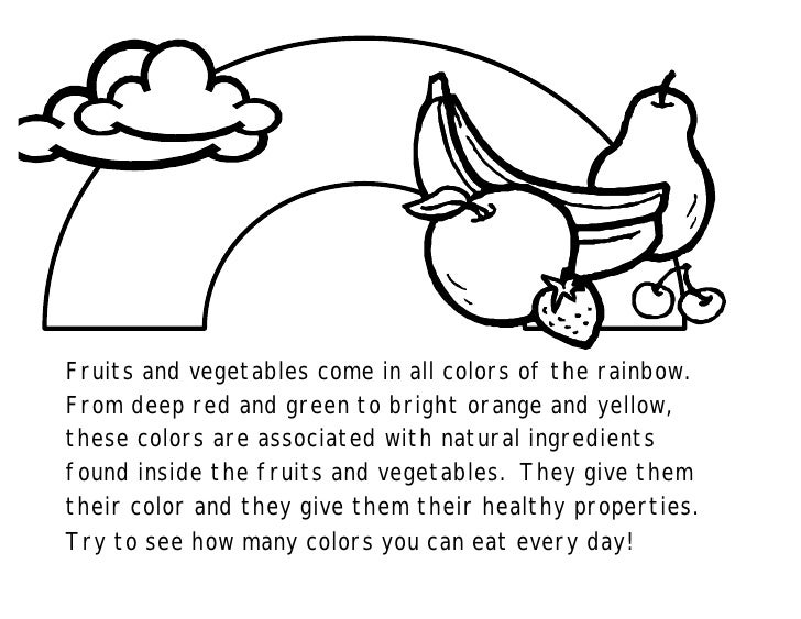 Fruits and vegetables come in all colors of the rainbow. From deep red and green to bright orange and yellow, these colors...