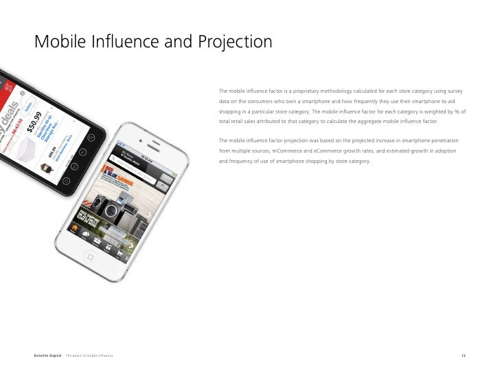 Mobile Influence and Projection                                                  The mobile influence factor is a propriet...