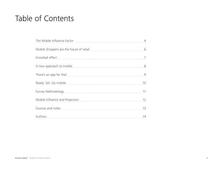 The Dawn of Mobile Influence | Deloitte Digital Slide 2