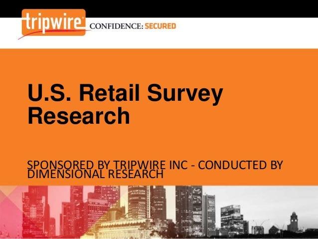 U.S. Retail Survey Research