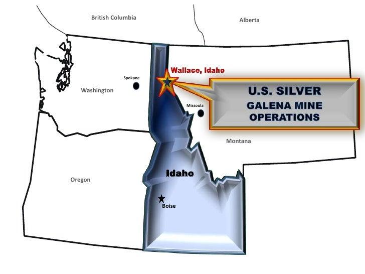 British Columbia<br />Alberta<br />Spokane<br />Washington<br />Montana<br />Oregon<br />IDAHO<br />Wallace, Idaho<br />U....