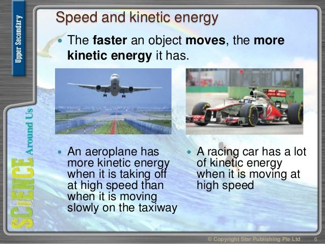 A Speed Racing Car Potential Or Kinetic Energy