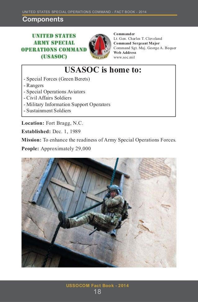 USSOCOM Fact Book 2014