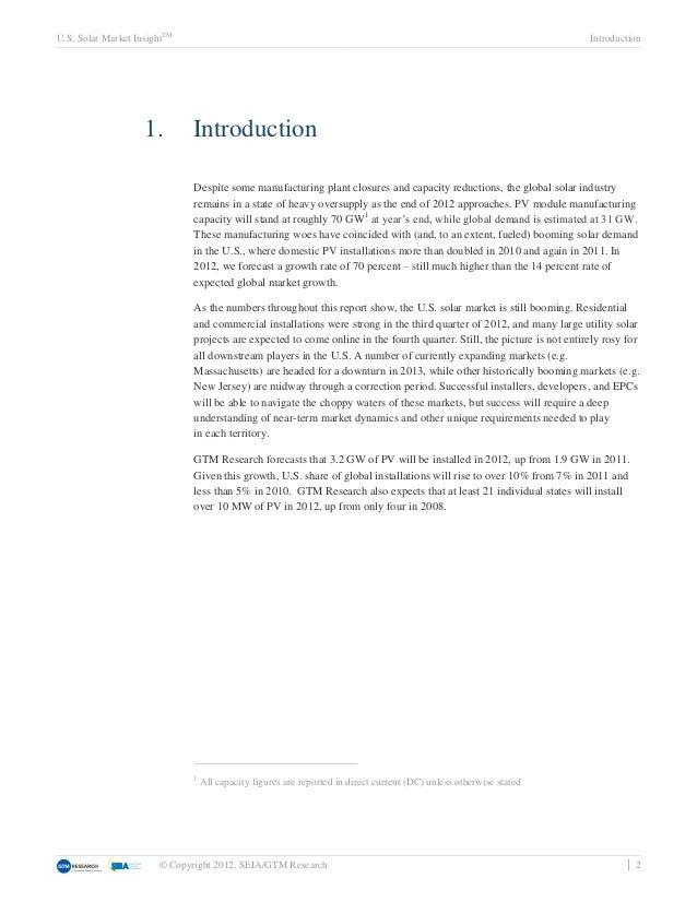 U.S. Solar Market InsightTM                                                                                              I...