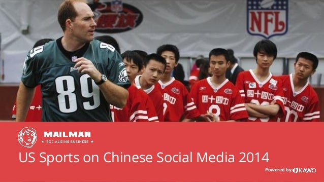 US Sports on Chinese Social Media 2014 Powered by