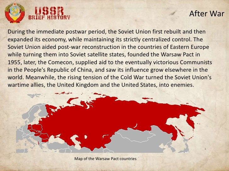 A brief history of the USSR