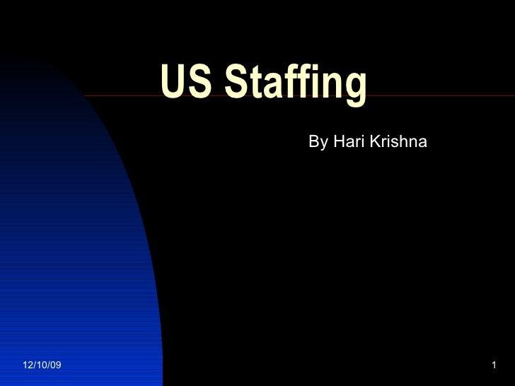 US Staffing By Hari Krishna