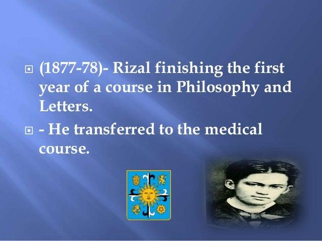 Jose Rizal in UST Slide 2