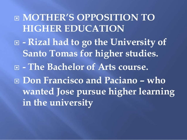 Jose Rizal in UST Slide 3
