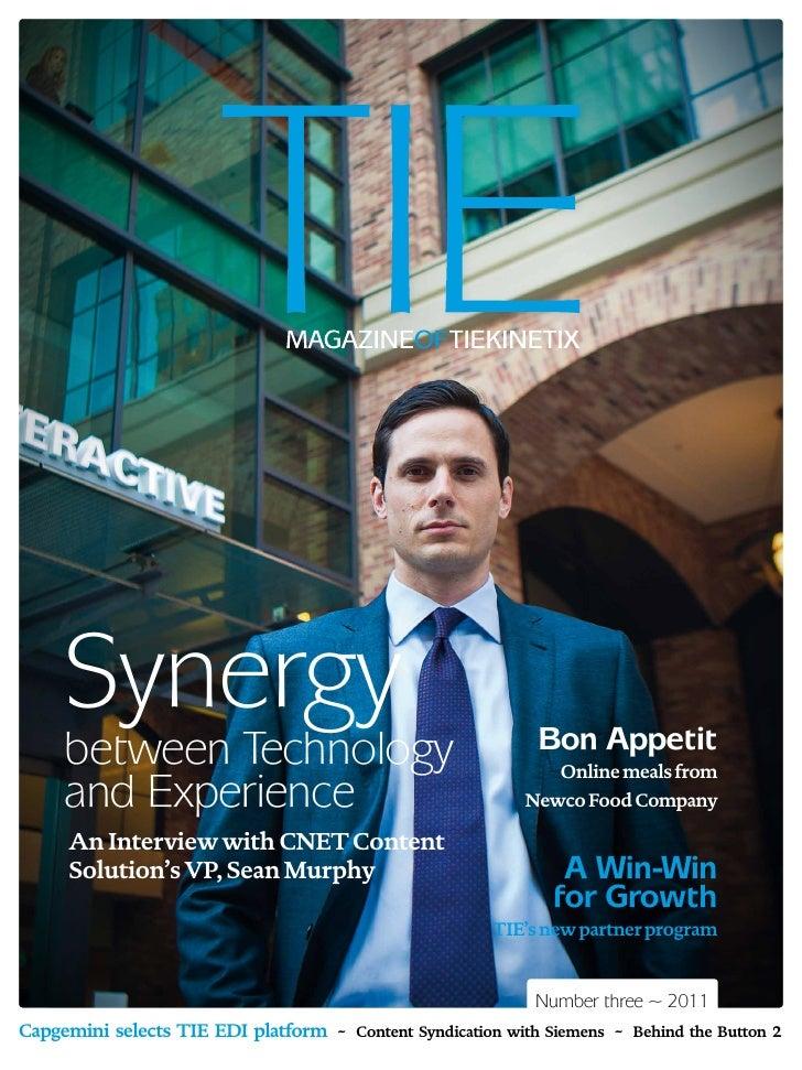 Synergy                                                 Bon Appetit     between Technology                                ...