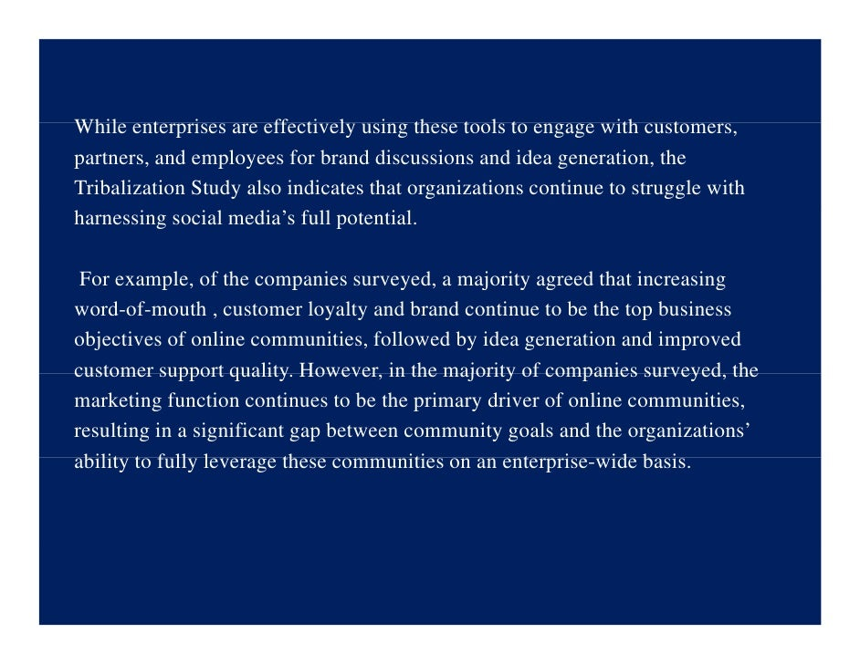 While t Whil enterprises are effectively using these tools to engage with customers,               i        ff ti l      i...