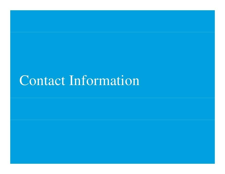 Contact I f C       Information                 i