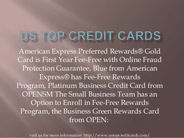 American Express Preferred Rewards® Gold Card is First Year Fee-Free with Online Fraud Protection Guarantee, Blue from Ame...
