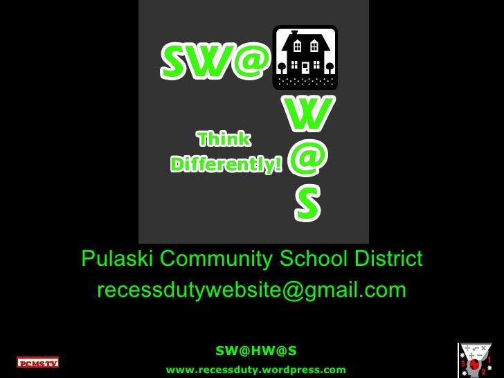 Pulaski Community School District [email_address]