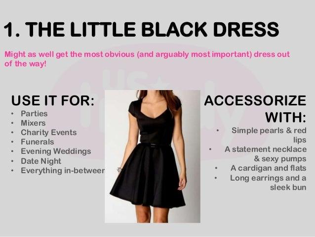 Seven Dresses Every Woman Needs