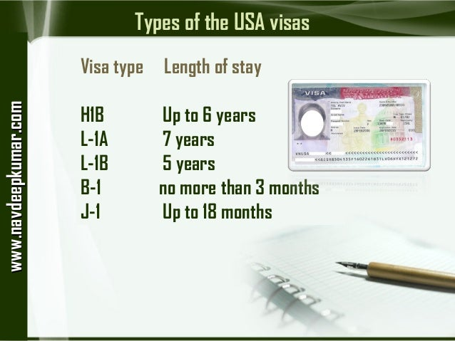 the different types of visas available in the us Different types of us work visas january 23, 2014 may 24, 2018 / employment / by us-immigrationcom citizens of foreign countries can come to the us to work here.