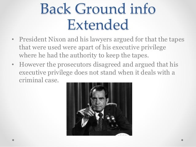 understanding executive privilege Comment on executive privilege in light of he has contributed not only to our understanding of legal they appealed to the fear of executive power that was as.