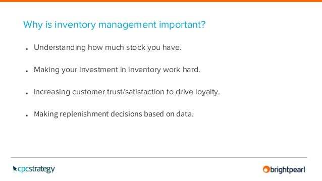 Brightpearl - Fulfillment & Inventory Control Management ...