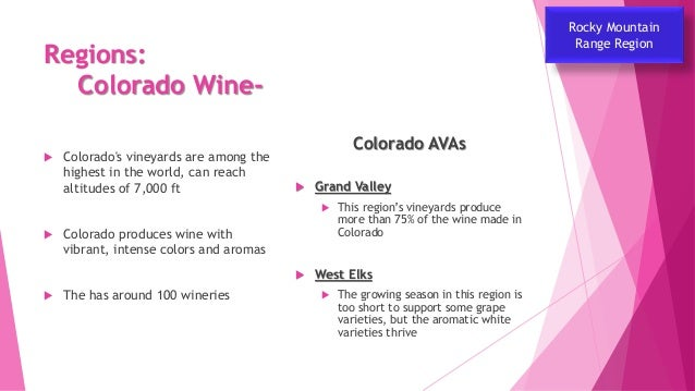 US Wine Industry Part 5 of 7