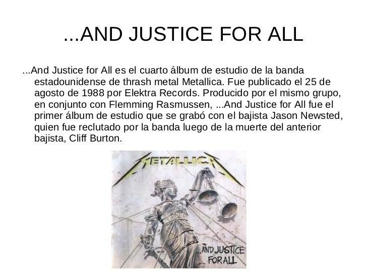 BLACK ALBUMMetallica (también conocido como  Black Album por su portada), es el  quinto disco de estudio de la  agrupación...