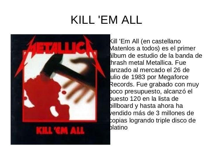 RIDE THE LIGHTNINGRide The Lightning es el segundo  álbum de estudio de la banda  estadounidense de thrash  metal, Metalli...