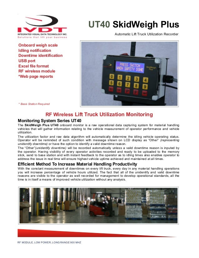 Forklift Productivity Recorders In Real Time