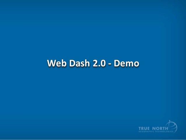 Web Dash 2.0 - Demo