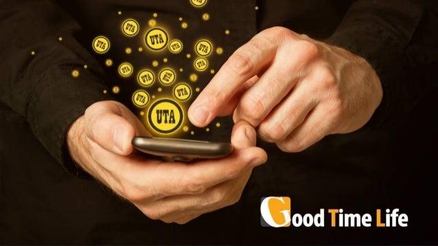 UTA COIN O nome da Nova Cryptomoeda GOOD TIME LIFE www.goodtime.life