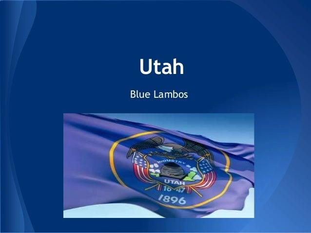 UtahBlue Lambos