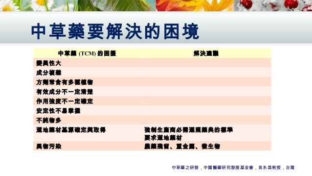 中醫藥產業人材培訓簡報(Utar apr2015)