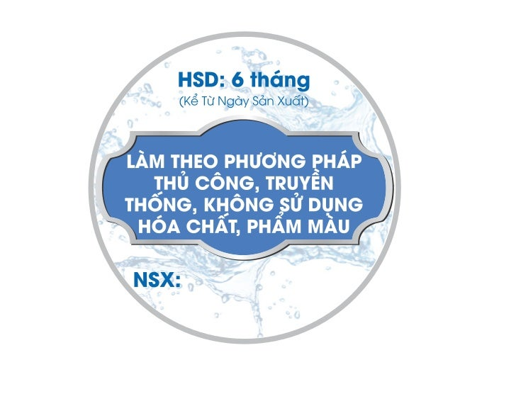 Ut Bach Thuy - Product Label