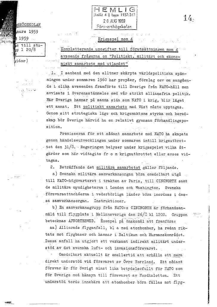 Utdrag Fhs Chefskurs 1959