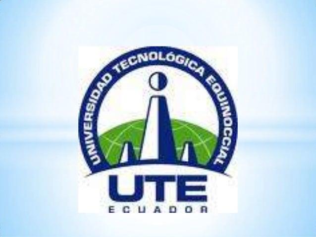 UTE EL EMPREDIMIENTO SOCIAL DEL MARCO DEANLISISUniversidad Tecnológica Equinoccialsistema de educación a distanciacarrera ...