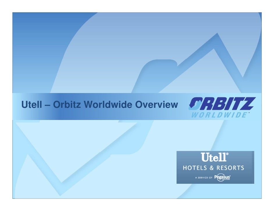 Utell – Orbitz Worldwide Overview