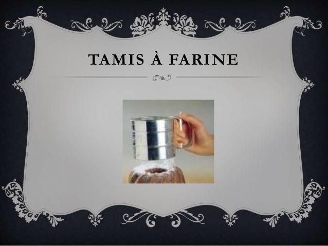TAMIS À FARINE