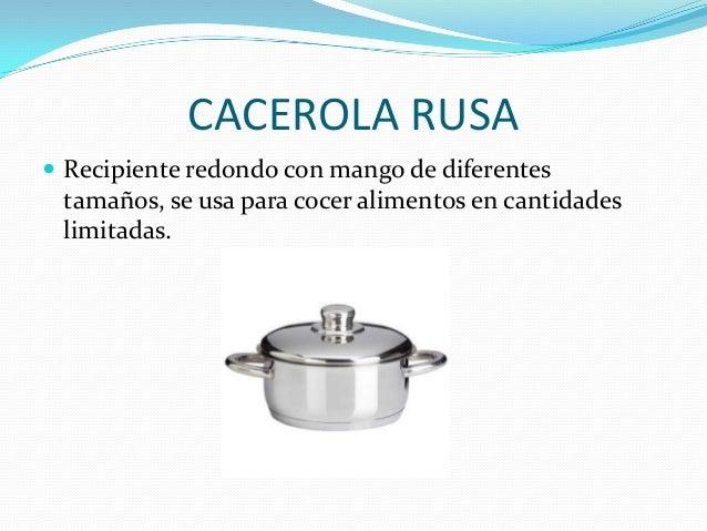 Utensilios de cocina for Enseres para cocina